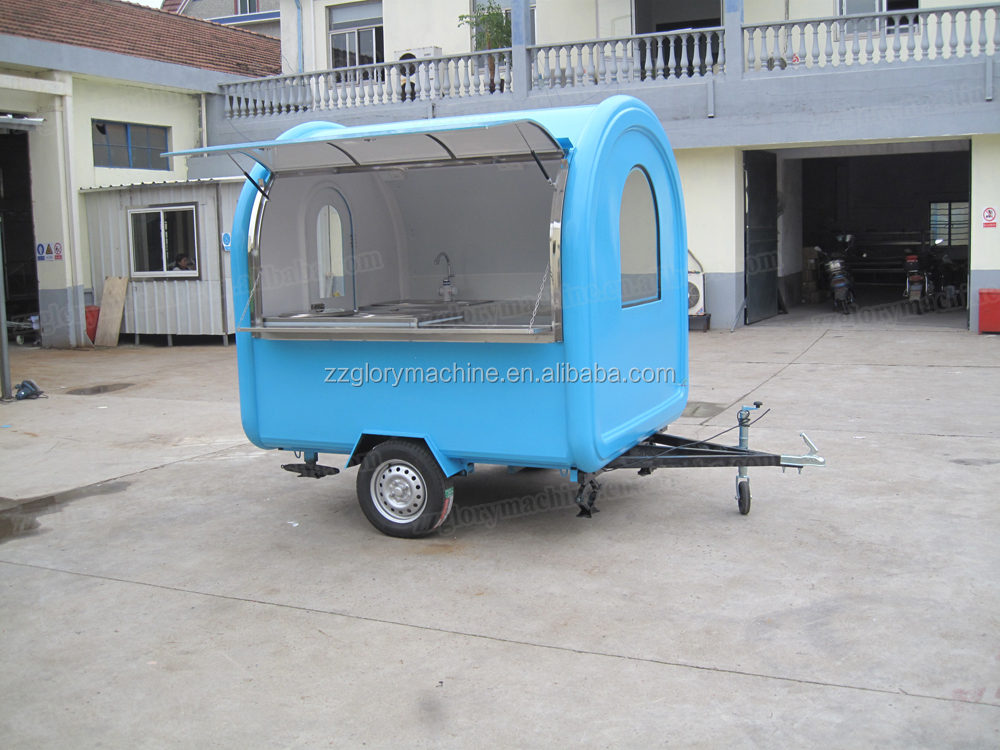 Food Vending Trailer cars for sale Mobile Restaurant Trailer/snack ...