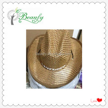 2016 Hot Sale Summer Cowboy Straw Hat