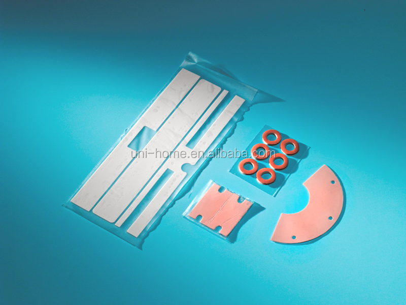Shock absorbent flame retardant silicone V-0 silicone rubber mats