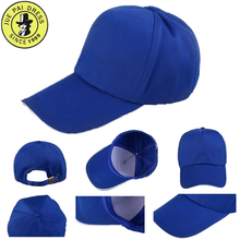 Factory 100% cotton Plastic snap back baseball cap