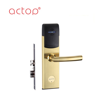 2018 factory intelligent hotel card door lock access control