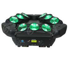 rotation club 9x10w spider endless led beam moving head party light