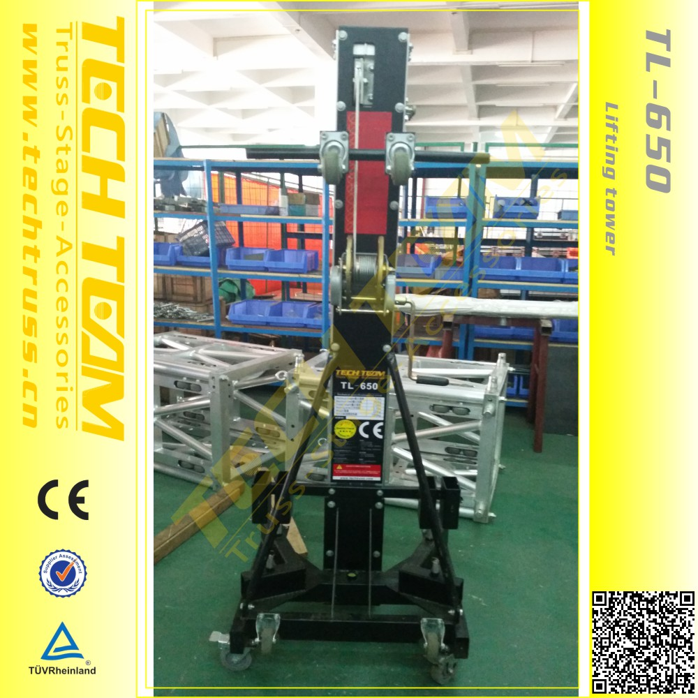 High Quality Lifting Tower Stand 5m height lifting Crank Stand