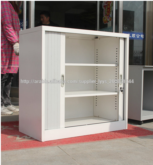 modular kitchen cabinet with roller shutter cupboard door