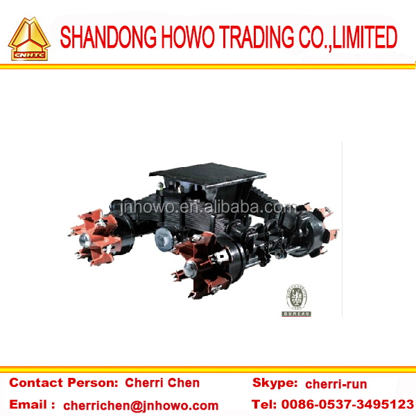 Trailer Parts--Bogie Suspension-BPW axle bogie-six spoke bogie suspension