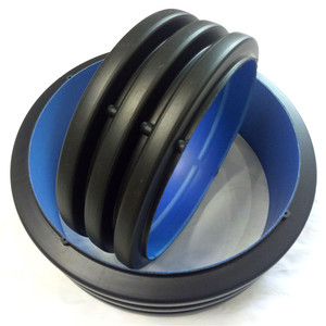 Standard Sizes Black DN 4 18 24 30 inch Specifications HDPE Corrugated Plastic Pipes for Plumbing