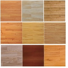 2017 new design specials pitted surface brazilian cherry wood quality hdf arc click hard laminate Flooring