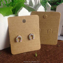 Custom Printed Earring Card With Logo