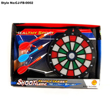 "17"" Safey magnetic dart board stands for kids toys play"