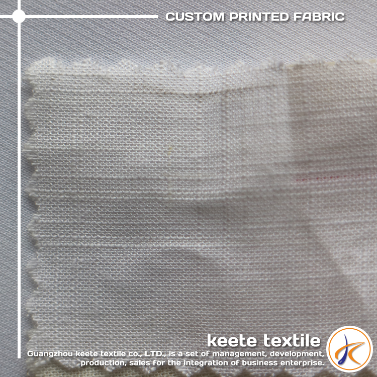 Free sample high quality 85% rayon15 linen fabric
