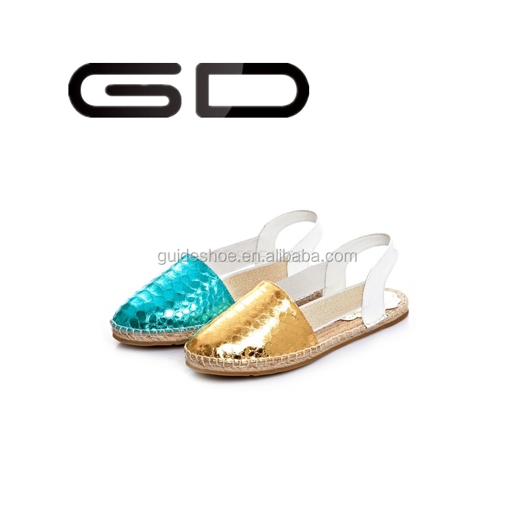 Woman cow leather sandals hemp rope sole fashion handmade leather shoes