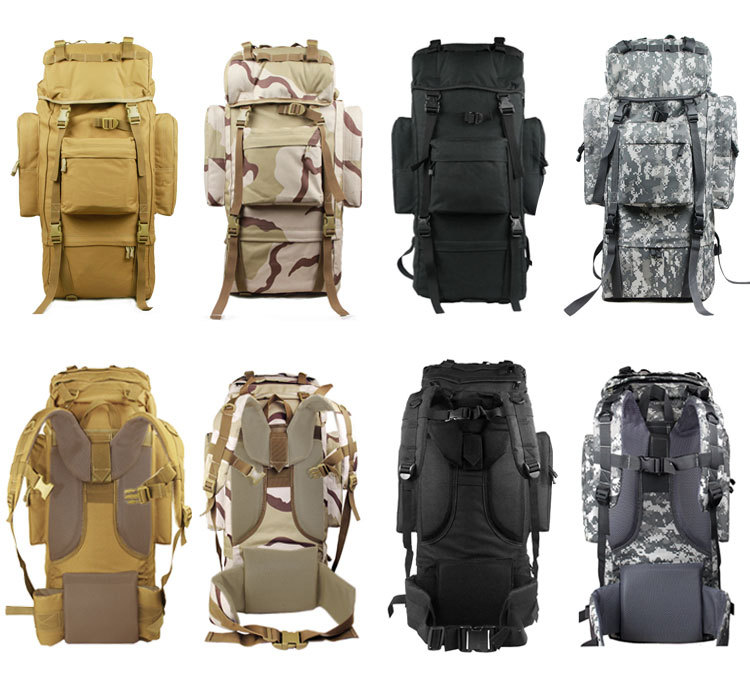 high quality durable mens outdoor military camouflage backpack