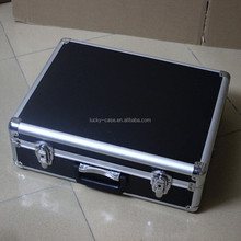 Aluminum tool box Multimeter case strongbox instrument meter box suitcase digital multimeter box high quality