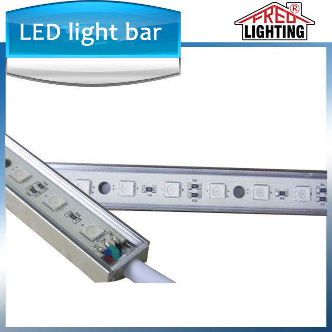 rgb Waterproof Smd 5050 60leds/m Led light Rigid Bar with ce rohs approved