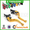 Straight Short CNC Aluminum Adjustable Brake Clutch Lever Set For K1300S