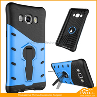 Newest Stand Armor Rotation Phone Case For Samsung J7 2016 360 degrees Mobile Rotation Cover Skin