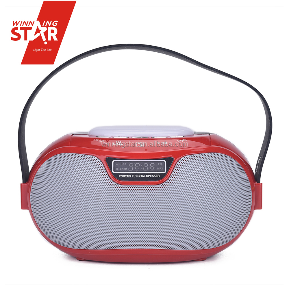 Stereo Sound Box Support mobile phones external speakers portable digital speaker