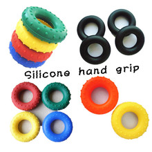 Wholesale silicone gym hand grip/spring hand grip/soft hand grip