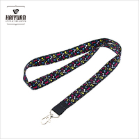 custom cheap printed neck lanyards no minimum order