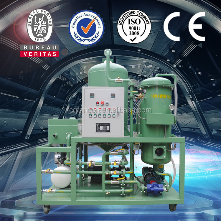 vacuum oil filtration system waste transformer oil recycle purifier