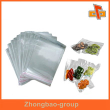 manufacturers transparent nylon pe food grade vacuum seal storage bag for vagetable/fruits from China