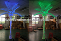 Blue H:7m lighted ornamental palm trees for sale