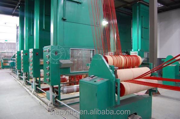 fire sleeve has printed apply for cable and hose in steel factory
