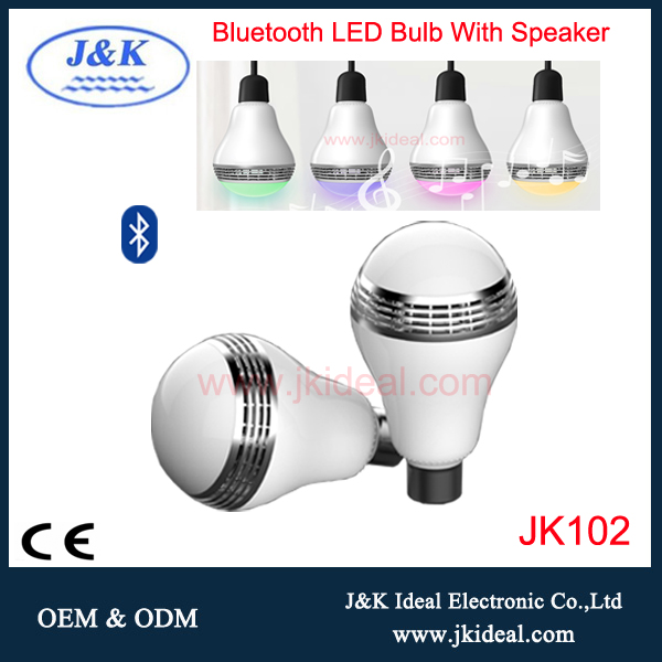 JK102 2017 new arrival 5W E27 bluetooth colour changing led downlight