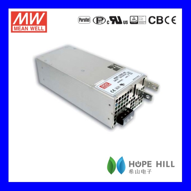 Original MEAN WELL RSP-1500-27 MODEL 1512W Power Supply with Single Output LED Driver
