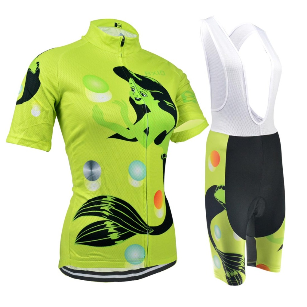 BXIO Women's Short Sleeve Cycling Jersey OEM Bike Sport Wear Bicycle Clothing Breathable Ciclismo Ropa BX-0209G019