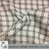 check fashion Chanel women pure wool suit fabric