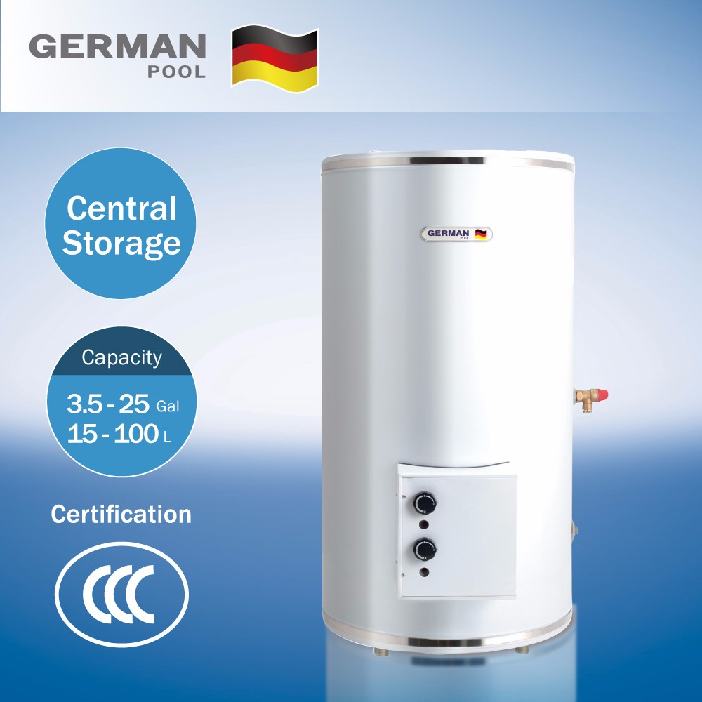 German Pool Hotel Bathroom Used Pollution-Free Environment Multi-Point Application Freestanding Electrical Water Heater