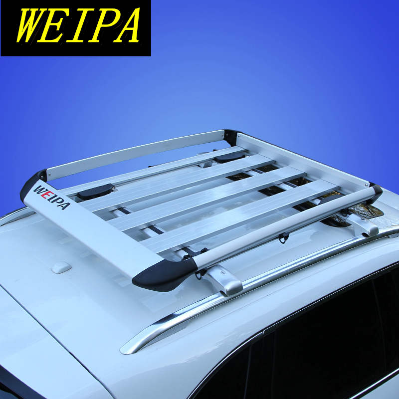 Aluminium Car Removable Roof Rack Basket Luggage Cargo Carrier Box For Car With Roof Rack