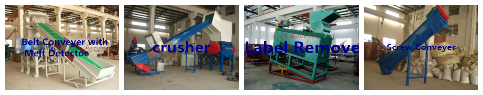 plastic PET bottle recycling machine supplies Zhongmao machine