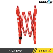 plastic traffic safety barries/plastic crowded barrier