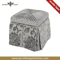 Good quality newest bedroom filling foam ottoman