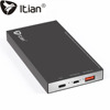8800mAh Battery Capacity Powerbank,Itian Li-polymer Battery Power Bank with QC3.0 quick charger and USB 3.1(Type-c) for phones