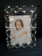 selling crystal glass diamond photo picture frame for giveaway gift(R-1130)