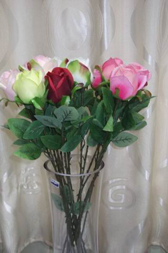 natural crystal artificial glitter rose flowers