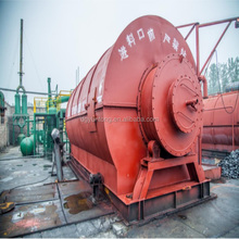 hot selling waste tire&plastic to recycle Pyrolysis diesel oil plant safety automatic machiney