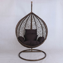 Round Rattan Outdoor Bed Outdoor Swing Fisher Baby Swing Indoor Swing for adults