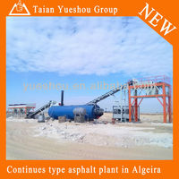Cold Asphalt Mixing Plant 120t/h working in Algeria