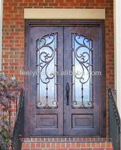 House iron front doors FD-055