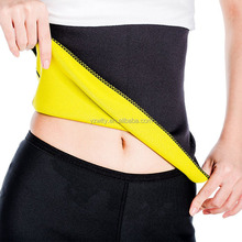 Promotional durable unisex neoprene exercise thermal waist band lossing weight belt
