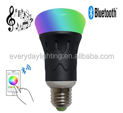 MR RGBW LED Bluetooth Speaker Bulb - Dimmable Multicolored Color Changing LED Lights