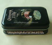 rectangular fanny toy packaging tin box