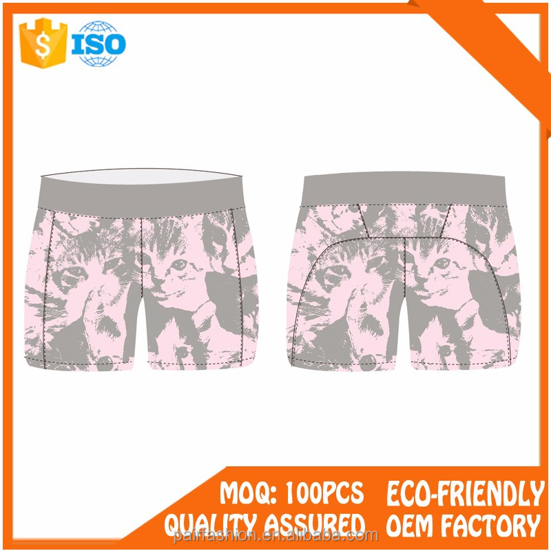 quick dry custom high cut running women shorts