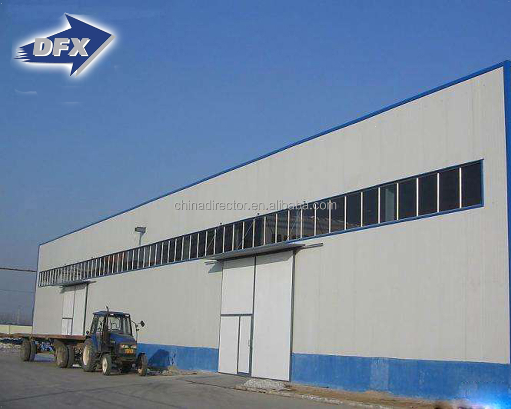 High Quality PU Sandwich Panel Steel Structure Cold Room Storage Warehouse