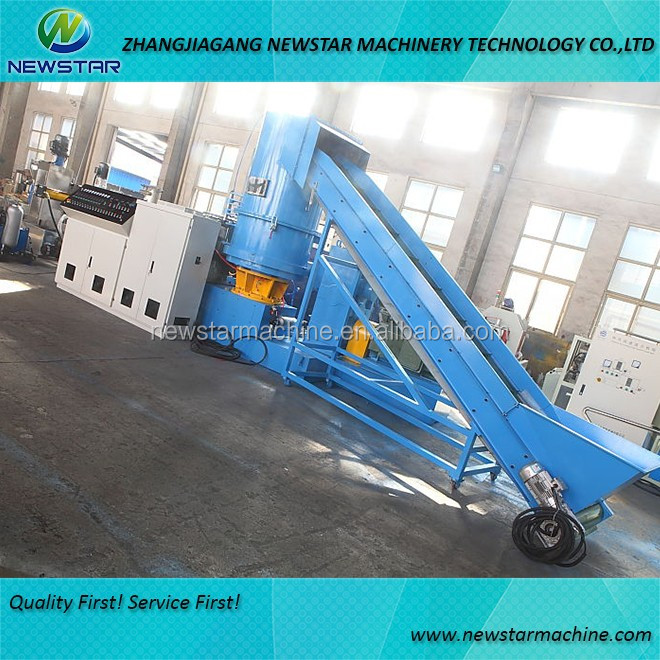 High Quality film pelletizing machine recycled plastic granulator line