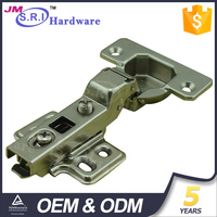 Whole sale iron metal bathroom / kitchen cabinet door hinges